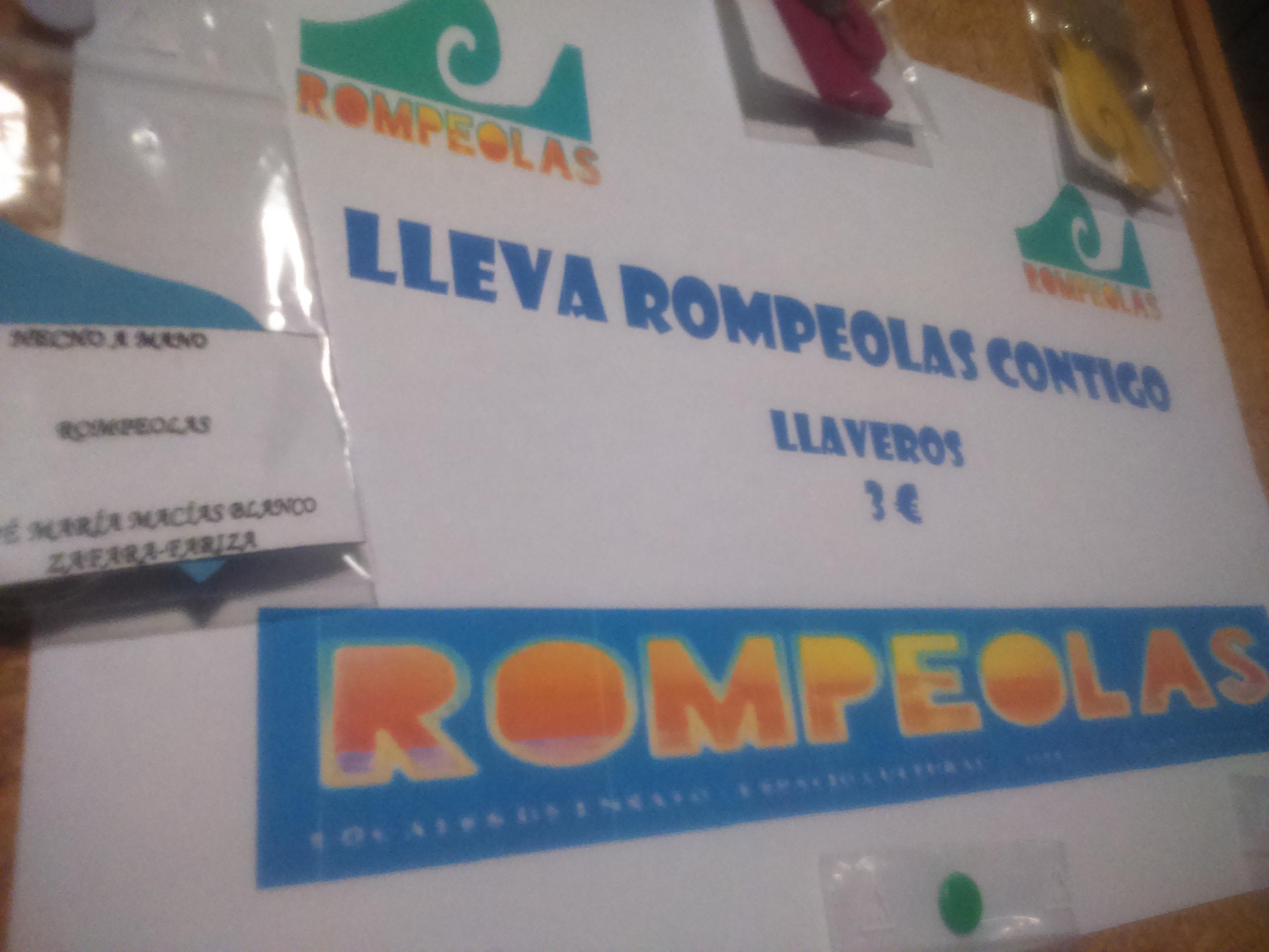 Llaveros Rompeolas