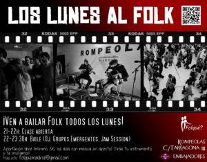 ¡Los lunes al Folk! con Folqué? Inicio de temporada 2018-2019!!!! @ Rompeolas Locales y Aulas de Ensayo | Madrid | Comunidad de Madrid | España