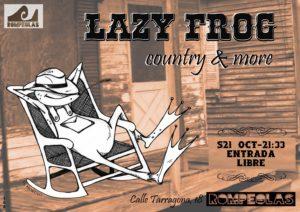 Lazy Frog en concierto! @ Rompeolas Locales y Aulas de Ensayo | Madrid | Comunidad de Madrid | España