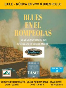 Blues en Rompeolas con Chicago Blues Dance & many more! @ Rompeolas Locales y Aulas de ensayo | Madrid | Comunidad de Madrid | España