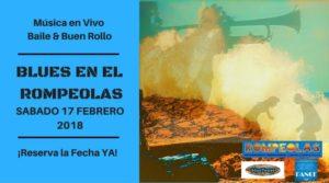 Blues en Rompeolas @ Rompeolas Locales y Aulas | Madrid | Comunidad de Madrid | España