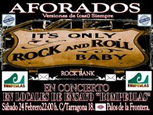 AFORADOS Rock Bank. Versiones de (casi) siempre @ Rompeolas Locales y aulas de ensayo | Madrid | Comunidad de Madrid | España