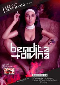 Bendita Divina + Locoy Trewa.  Concierto en directo. @ Rompeolas Locales | Madrid | Comunidad de Madrid | España