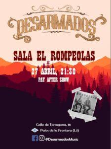 Desarmados en concierto... @ Rompeolas Locales | Madrid | Comunidad de Madrid | España