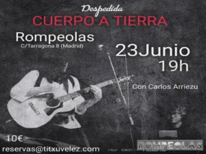 Titxu Vélez...en concierto! @ Rompeolas Locales | Madrid | Comunidad de Madrid | España