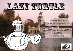 LAZY TURTLE BAND @ Rompeolas Locales | Madrid | Comunidad de Madrid | España