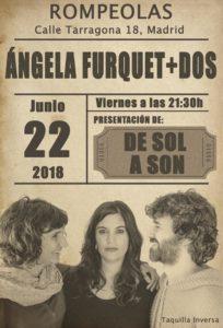Ángela Furquet + DOS. concierto presentación de SOL A SON @ Rompeolas Locales | Madrid | Comunidad de Madrid | España