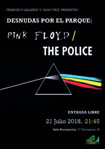 Desnudas por el parque: Tributo Pink Floyd & The Police @ Rompeolas Locales | Madrid | Comunidad de Madrid | España