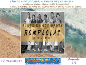 BLUES DANCE PARTY, con Chicago Blues Dance @ Rompeolas Locales | Madrid | Comunidad de Madrid | España