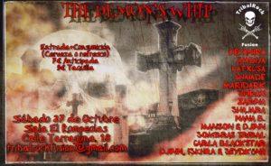 The Demon´s Whip...Noche infernal con TribalRock... @ Rompeolas Locales | Madrid | Comunidad de Madrid | España