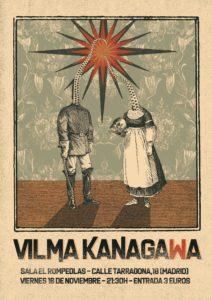 VILMA KANAGAWA en concierto... @ Rompeolas Locales | Madrid | Comunidad de Madrid | España