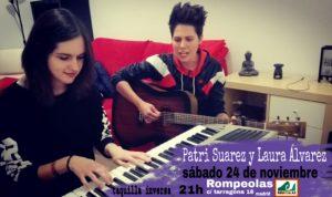 Patri Suárez y Laura Álvarez en Rompeolas... @ Rompeolas Locales | Madrid | Comunidad de Madrid | España
