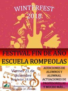 Winterfest: Concierto fin de año con alumnos/as de la Escuela Rompeolas @ Rompeolas Locales