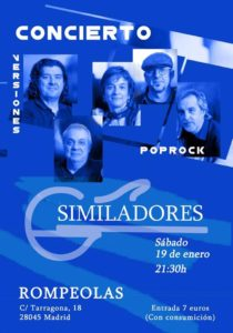 Concierto de SIMILADORES @ Rompeolas Locales