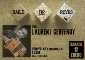 Baile de Reyes con Laurent Geoffroy: bal folk en Rompeolas @ Rompeolas Locales