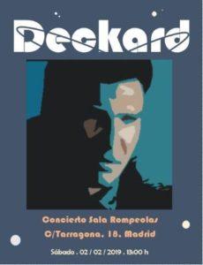 Deckard en concierto @ Rompeolas Locales