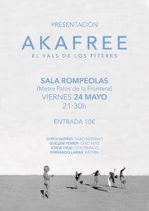 Akafree: concierto presentación de nuevo disco @ Rompeolas Locales