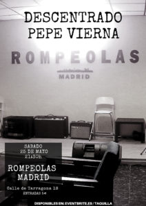 Descentrado y Pepe Vierna en concierto, presentación EP @ Rompeolas Locales