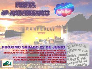 Festival 4º Aniversario Rompeolas @ Rompeolas Locales