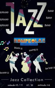 Ground Jazz Band: Jazz Collection en Rompeolas... @ Rompeolas Locales