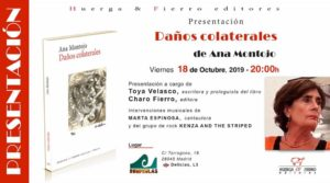 """Presentación del libro: """"Daños colaterales"""", de Ana Montojo. @ Rompeolas Locales"""