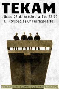 TEKAM en directo @ Rompeolas Locales