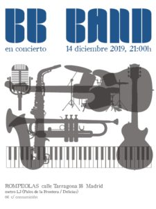 BB Band: jazz, blues, swing & covers... @ Rompeolas Locales