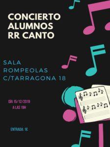 Concierto de alumnos/as RR CANTO @ Rompeolas Locales
