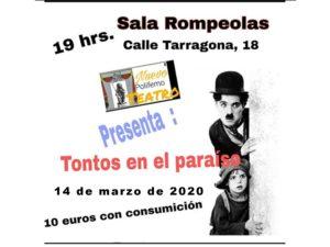 Nuevo Polifemo Teatro presenta: Tontos en el paraíso... @ Rompeolas Locales