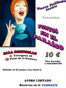 """Teatro Nuevo Polifemo presenta: """"Tontos en el paraíso"""" @ Rompeolas Locales"""