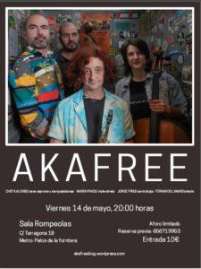 AKAFREE @ Rompeolas Locales